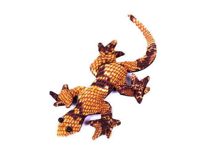 Pískové zvířátko textilní ještěrka handmade TD0002 004