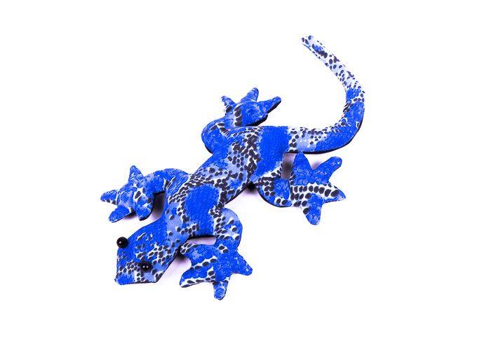 Pískové zvířátko textilní ještěrka handmade TD0002 006