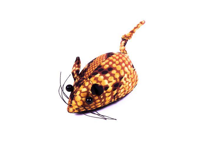 Pískové zvířátko textilní myška handmade TD0001 041