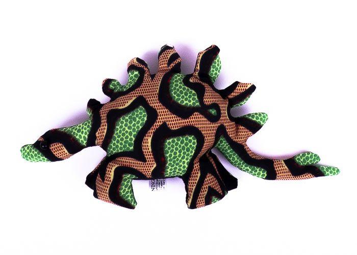 Pískové zvířátko textilní veleještěr handmade TD0003 014