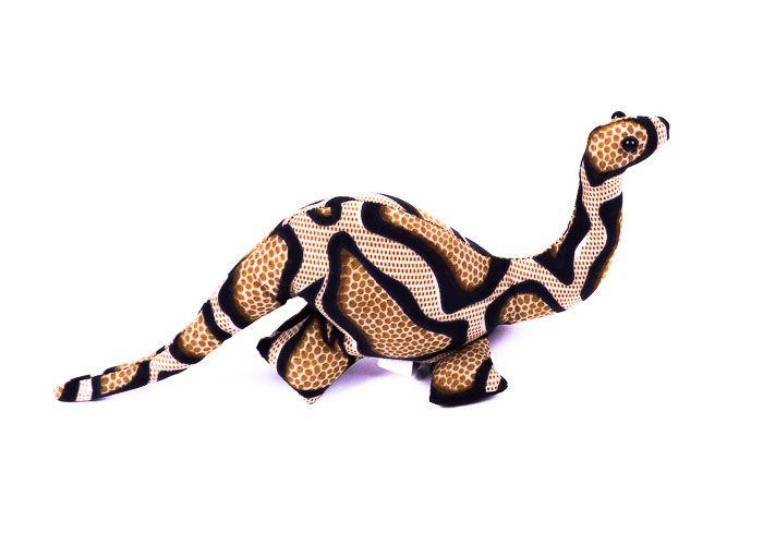 Pískové zvířátko textilní veleještěr handmade TD0003 016