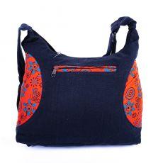 Taška SHAPE, barevný potisk, kusová výroba z Nepálu  NT0087-52-001