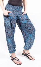 Turecké kalhoty sultánky FLOW viskóza TT0043-01-037