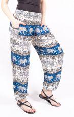 Turecké kalhoty sultánky FLOW viskóza TT0043-01-038