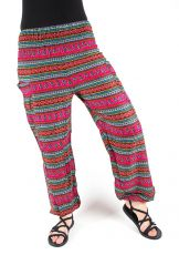Turecké kalhoty sultánky FLOW viskóza Thajsko TT0043-01-041