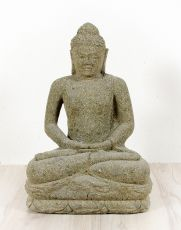 Kamenná socha Buddhy 50 cm z lávy  ID1607904