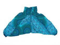 Dětské letní turecké kalhoty harémové  BABY ORIGIN  80 cm TT0103-03-023