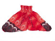 Dětské letní turecké kalhoty harémové  BABY ORIGIN  80 cm TT0103-03-025