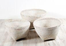 Bambusový koš na prádlo M - ID1606603-02