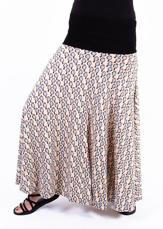 Dámská dlouhá sukně LOLA z teplejšího materiálu - TT0100-01-138