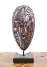 Dekorace maska velká  - s bílou patinou  ID1608203  03