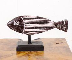 Dekorace ryba malá  - s bílou patinou  ID1608202  01B