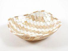 Dekorativní miska z perleti a resinu S ID1601203-02