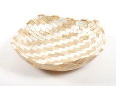 Dekorativní miska z perleti a resinu S ID1601203-03