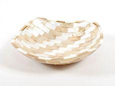 Dekorativní miska z perleti a resinu S ID1601203-01