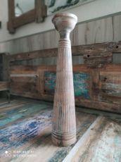Dekorativní svícen dřevo albesia 50 cm  ID1701009-03