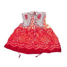 Dětské letní minišatičky (sukně)  CUTIE  40 cm  TT0122-01-019