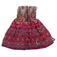 Dětské letní šatičky (sukně)  CUTIE  57 cm  TT0122-02-026