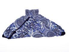 Dětské letní turecké kalhoty harémové  BABY ORIGIN  80 cm TT0103-03-018