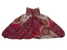 Dětské letní turecké kalhoty harémové  BABY ORIGIN  80 cm TT0103-03-032