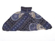 Dětské letní turecké kalhoty harémové  BABY ORIGIN  80 cm TT0103-03-019