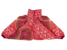 Dětské letní turecké kalhoty harémové  BABY ORIGIN  80 cm TT0103-03-029
