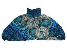 Dětské letní turecké kalhoty harémové  BABY ORIGIN  80 cm TT0103-03-030