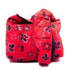 Kabelka SIMPLE JOY, ruční potisk, shyama bavlna Nepál  NT0078-00-013
