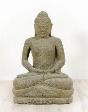 Kamenná socha Buddhy 65 cm z lávy  ID1607901