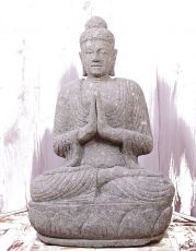 Kamenná socha Buddhy 65 cm z lávy  ID1607907