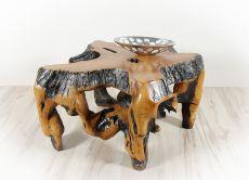 Konferenční stůl z teakového dřeva bez skleněné desky ID1603605