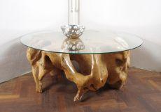 Konferenční stůl z teakového dřeva se skleněnou deskou ID1603603-ID1605901