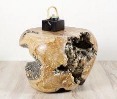 Kulatý konferenční stolek z teakového dřeva ID168401