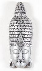 Maska Buddha 80 cm - nástěnná bytová dekorace, dřevořezba Indonésie  ID1605803