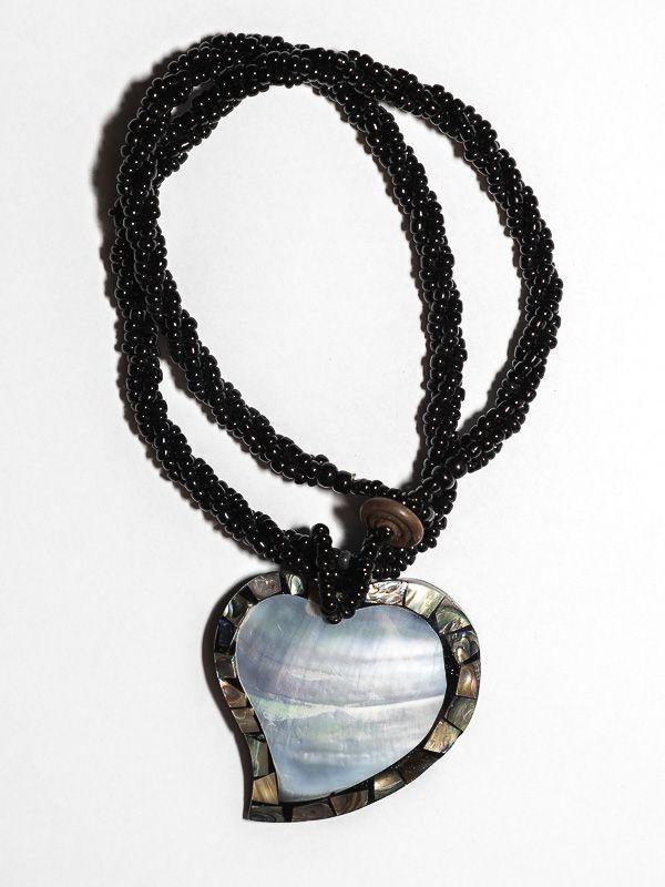 Náhrdelník perličkový s přívěškem - IS0001-034