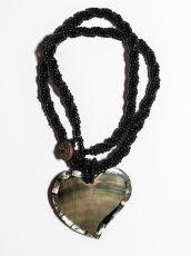 Náhrdelník perličkový s přívěškem  IS0001-035