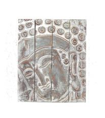 Nástěnná dekorace - panel - Buddha  vyřezávaná 50 x 40 cm  ID1607211 - 01