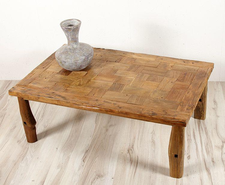 Originální konferenční stůl z tvrdého recyklovaného dřeva - ID1609201