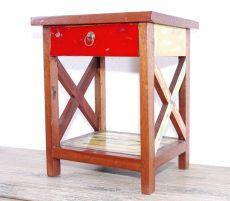 Originální odkládací stolek z recyklovaného dřeva ID1607502