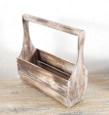 Přepravka - stojan na sklenice, dřevěná dekorace  ID1607206-02