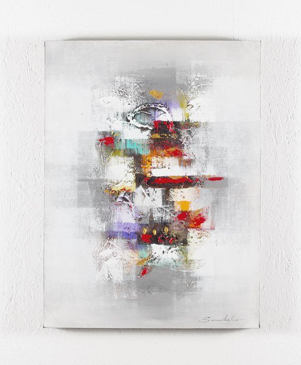 Ručně malovaný obraz na rřevěném rámu 60 x 80 cm ID1600301B