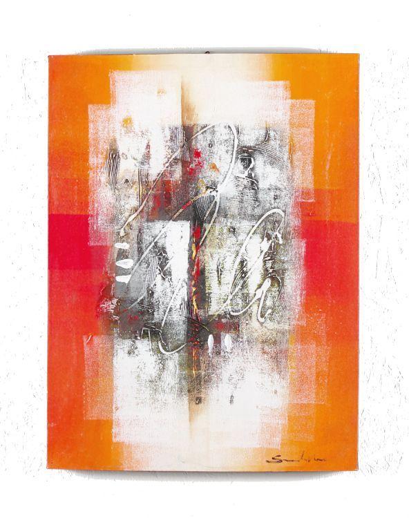 Ručně malovaný obraz na rřevěném rámu 60 x 80 cm - ID1606903-03