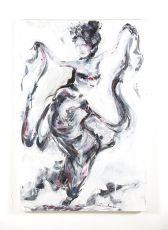 Ručně malovaný obraz 80 x 120 cm ID1606907