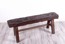 Rustikální stolička (lavička) z recyklovaného dřeva ID1607804