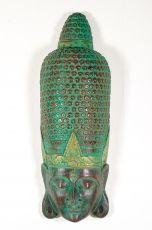 Socha - maska  Buddha 100 cm  - bytová dekorace, dřevořezba Indonésie  ID1602501