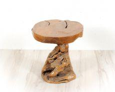 Stolička MUSHROOM teakové dřevo  ID1600401-02