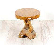 Stolička MUSHROOM teakové dřevo  ID1603601-01