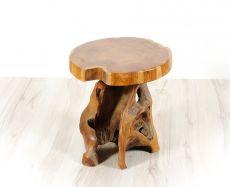 Stolička MUSHROOM teakové dřevo  ID1603601-02