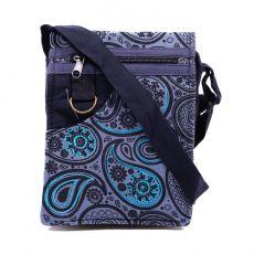 Taška na doklady BORA, kanvas, ruční výroba Nepál  NT0041-04-011