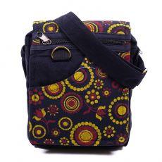 Taška na doklady BORA, kanvas, ruční výroba Nepál  NT0041-04-012